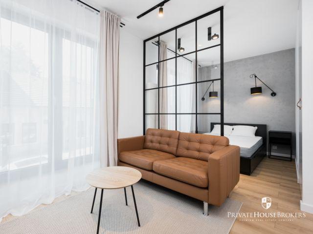 Wyjątkowe mieszkanie z wydzieloną sypialnią w sercu Starego Podgórza - nowoczesny apartamentowiec