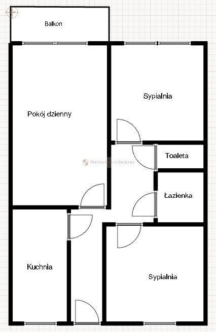 3-pok. mieszkanie przy Rondzie Mogilskim
