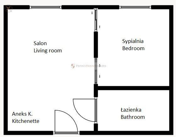 2 pokojowe mieszkanie! Podgórze!