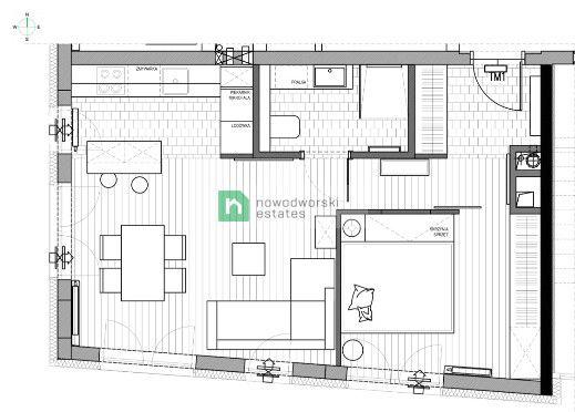 Mieszkanie do wynajęcia Warszawa, Ochota ul. Szczęśliwicka Elegancki apartament na Ochocie Szczęśliwicka 42 floorplan