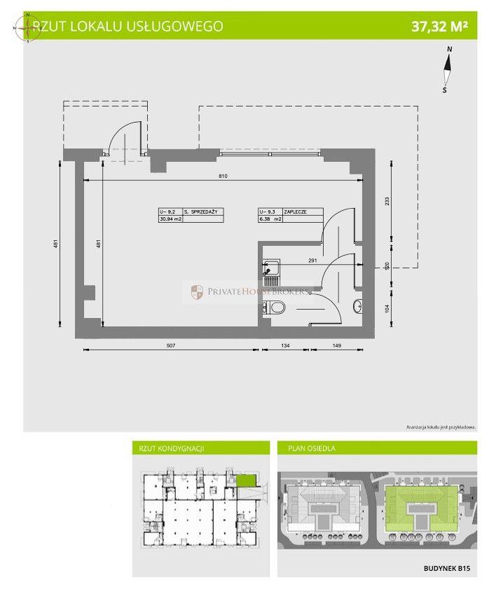 Commercial space 98 sqm Bieżanów- Prokocim district