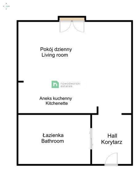 Mieszkanie na sprzedaż Kraków, Podgórze / Dębniki ul. ks. Stefana Pawlickiego Przestronna kawalerka, Dębniki, ul. Pawlickiego floorplan