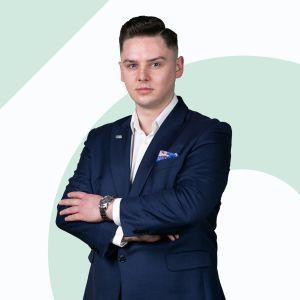 Jakub Sabat Starszy Specjalista ds. Sprzedaży i Wynajmu Nieruchomości