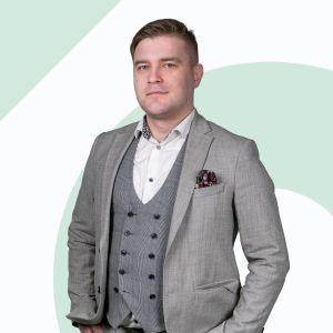 Damian Chmiel Starszy Specjalista ds. Sprzedaży i Wynajmu Nieruchomości
