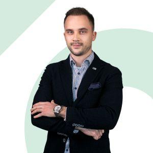 Damian Borczyk Specjalista ds. Sprzedaży i Wynajmu Nieruchomości