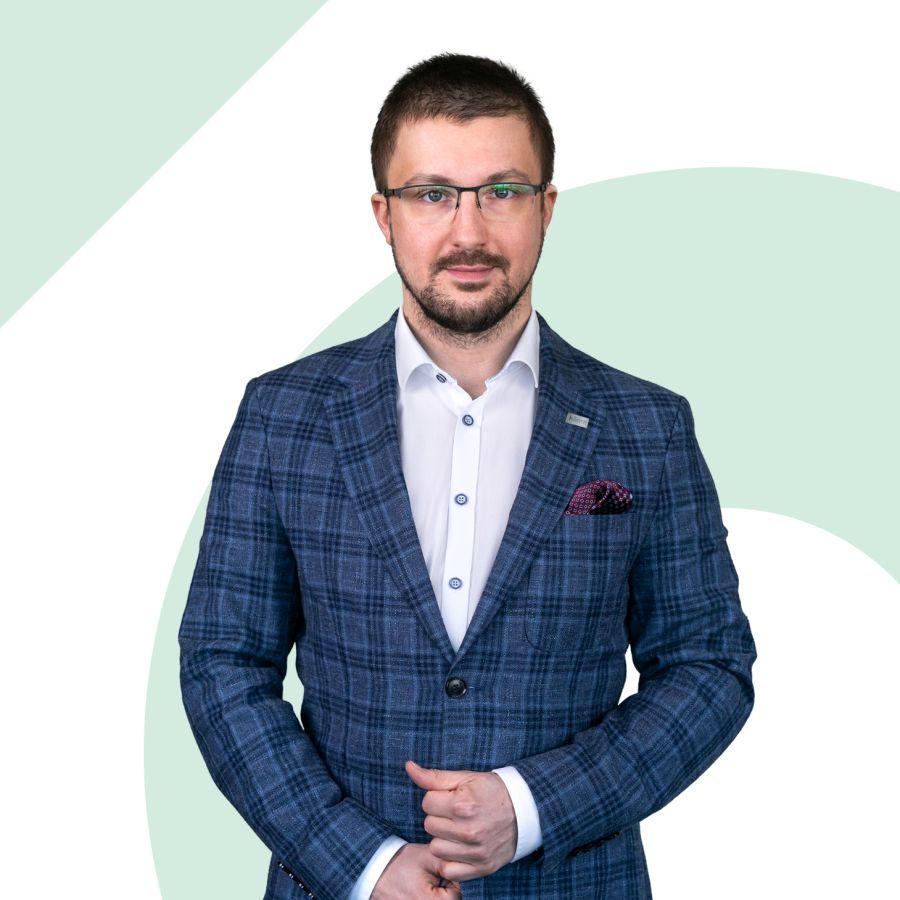 Norbert Nakoneczny Starszy Specjalista ds. Sprzedaży i Wynajmu Nieruchomości