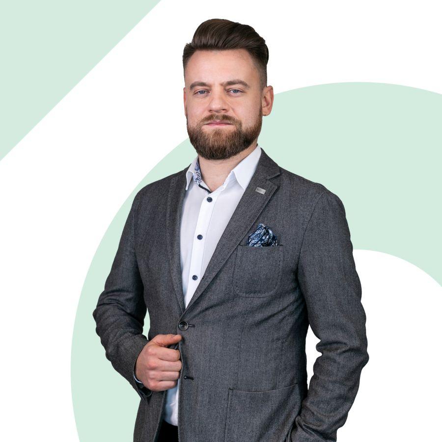 Damian Wojtas Starszy Specjalista ds. Sprzedaży i Wynajmu Nieruchomości