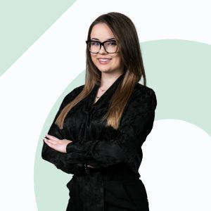 Dominika Łukasik Specjalista ds. Sprzedaży i Wynajmu Nieruchomości