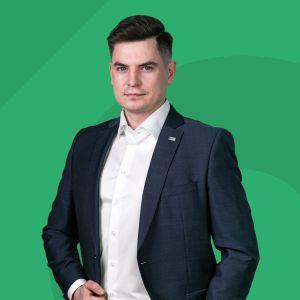 Dawid Powietrzyński Specjalista ds. Sprzedaży i Wynajmu Nieruchomości